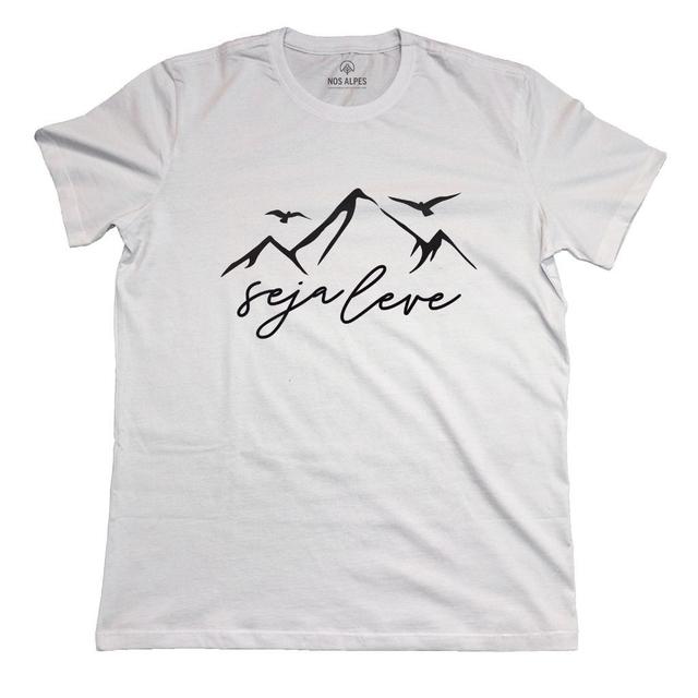 Camiseta Masculina Seja Leve