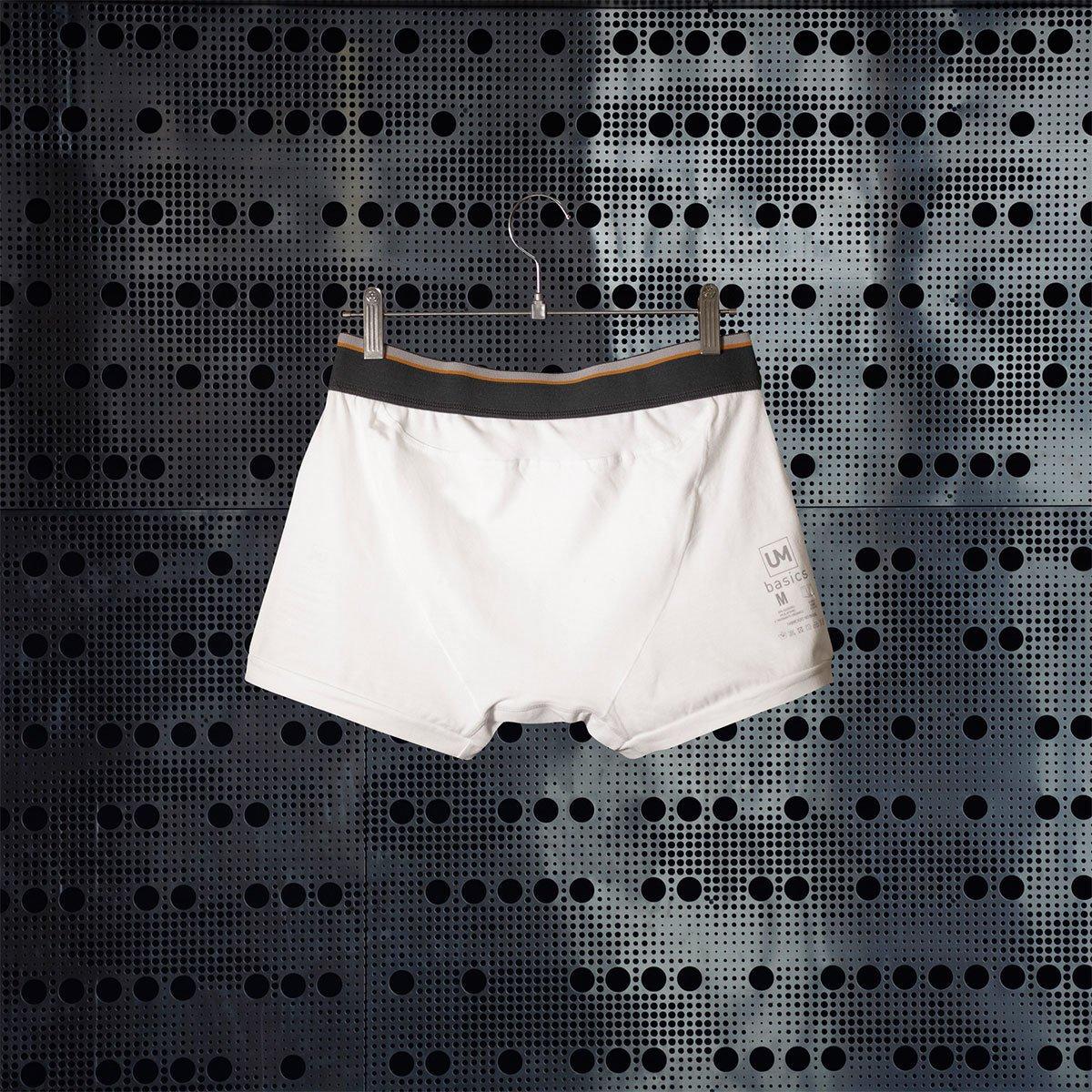 Cueca Short Boxer Branca