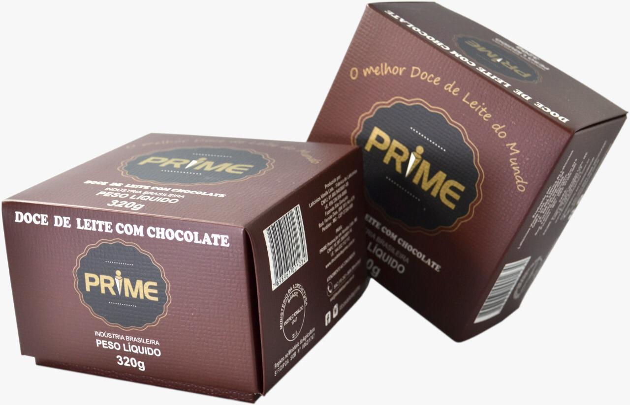 DOCE DE LEITE PRIME COM CHOCOLATE – 320 GRAMAS