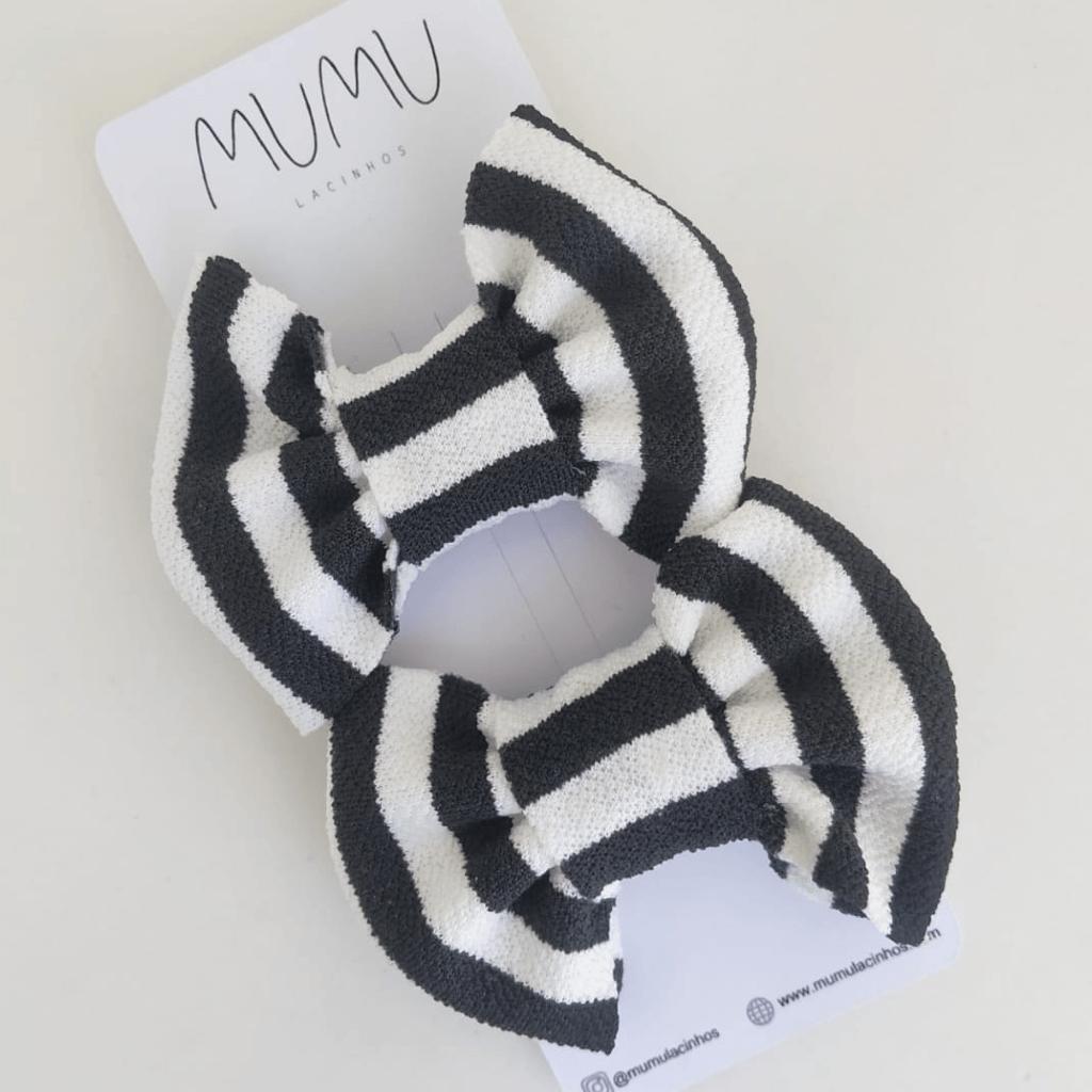 Duplinha Ella | Preto e Branco