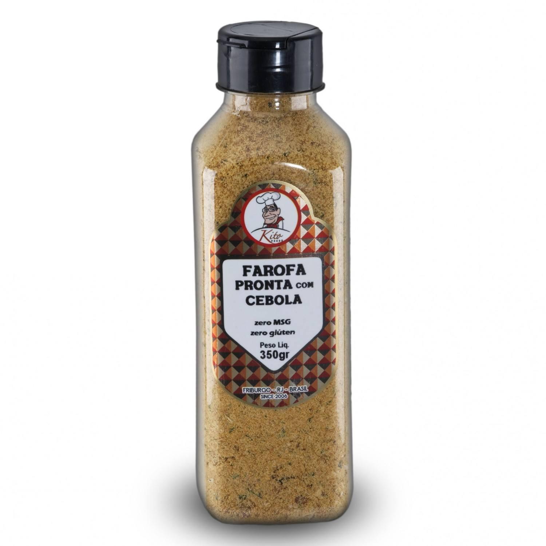 Farofa Pronta Cebola 350g