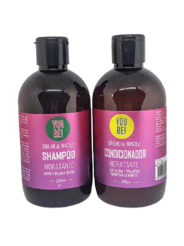 Kit Shampoo e condicionador Pós-química you Be!