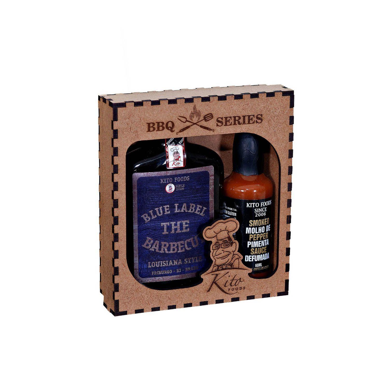 Kit The Barbecue Louisiana Style e Molho de Pimenta Defumada