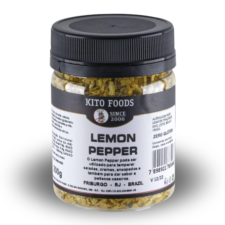 Lemon Pepper 200g