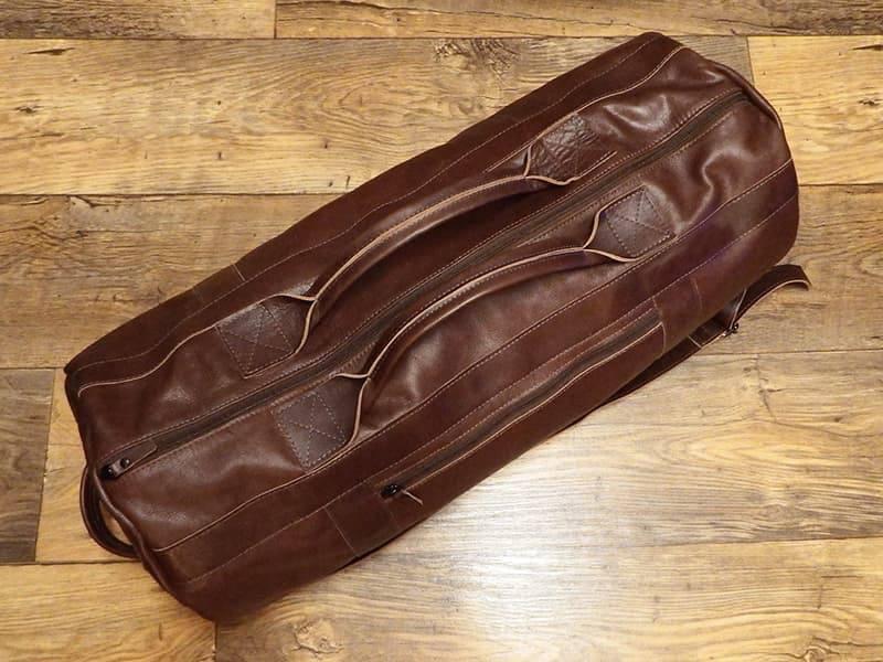 Mala Kit Bag Couro Whisky