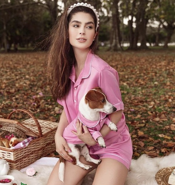 Pijama Pink para humanos