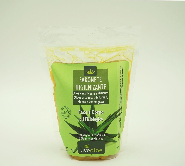 Refil Sabonete Higienizante - 500 mL Livealoe