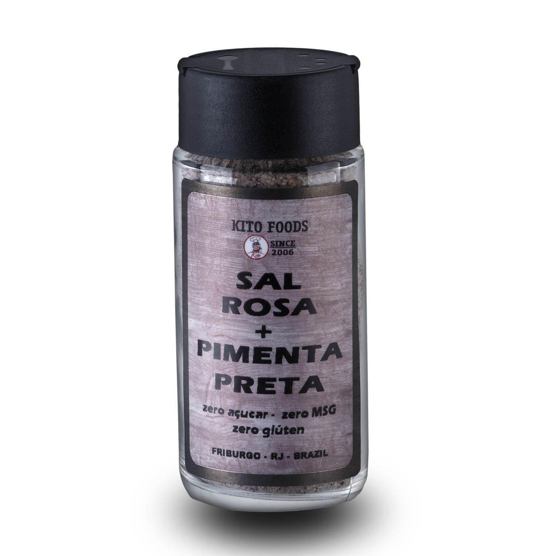 Sal Rosa com Pimenta Preta 100g