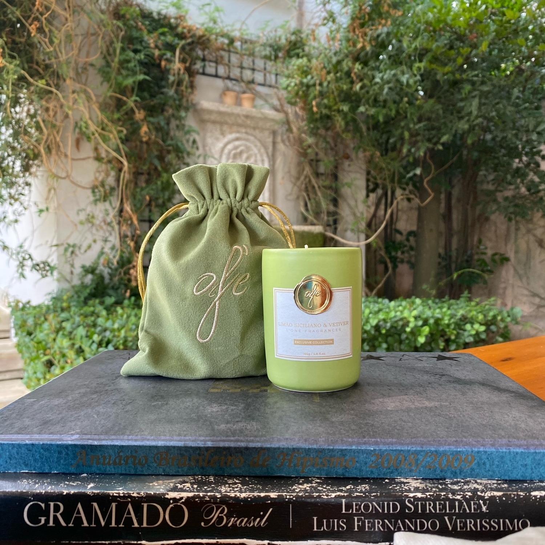 Vela - Limão Siciliano & Vetiver 165g