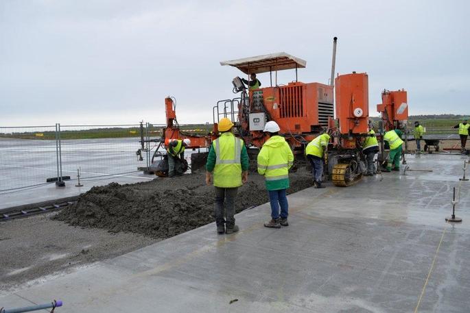 Visite de Chantier - Aéroport de LORIENT