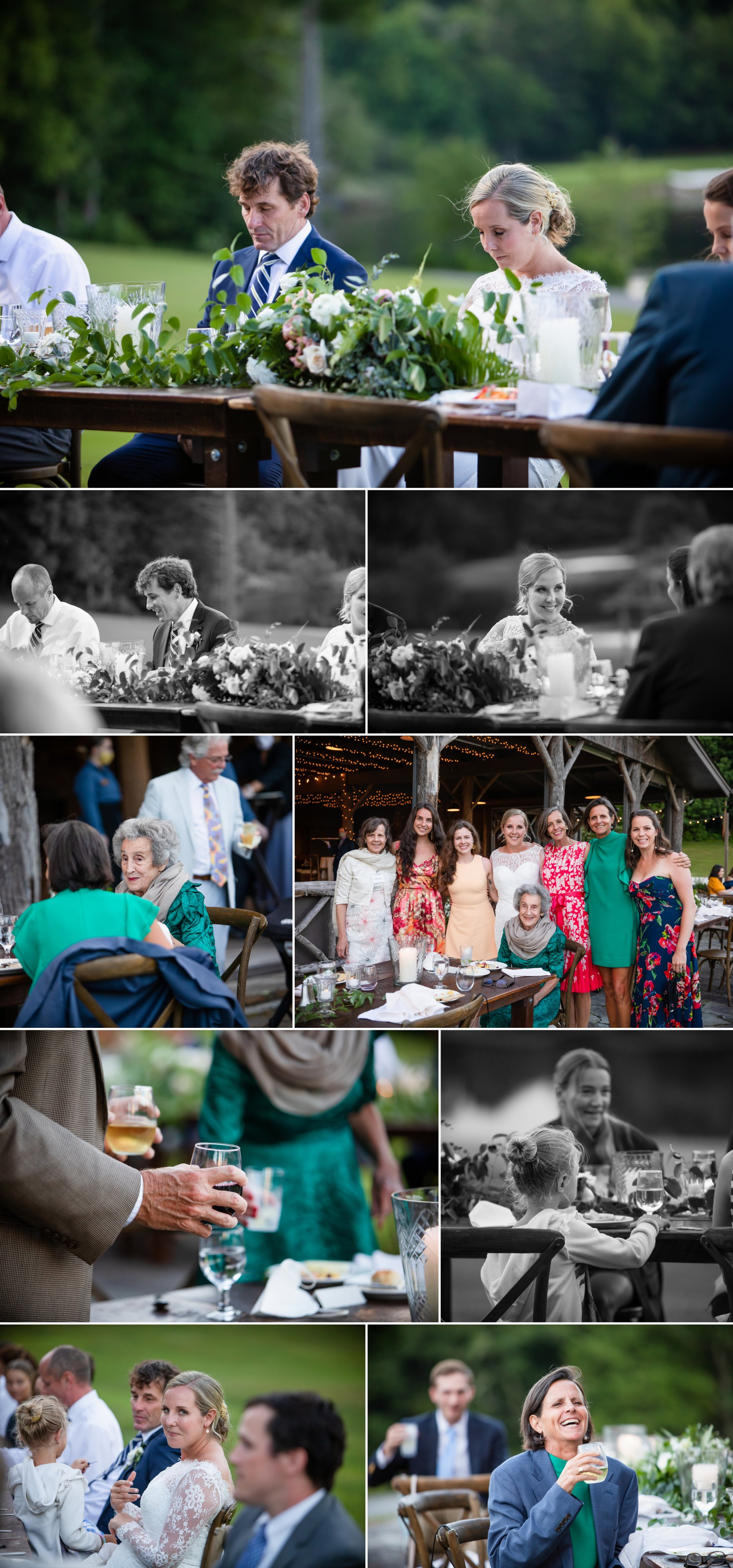 Wedding at Camp Yonahnoka, Linville