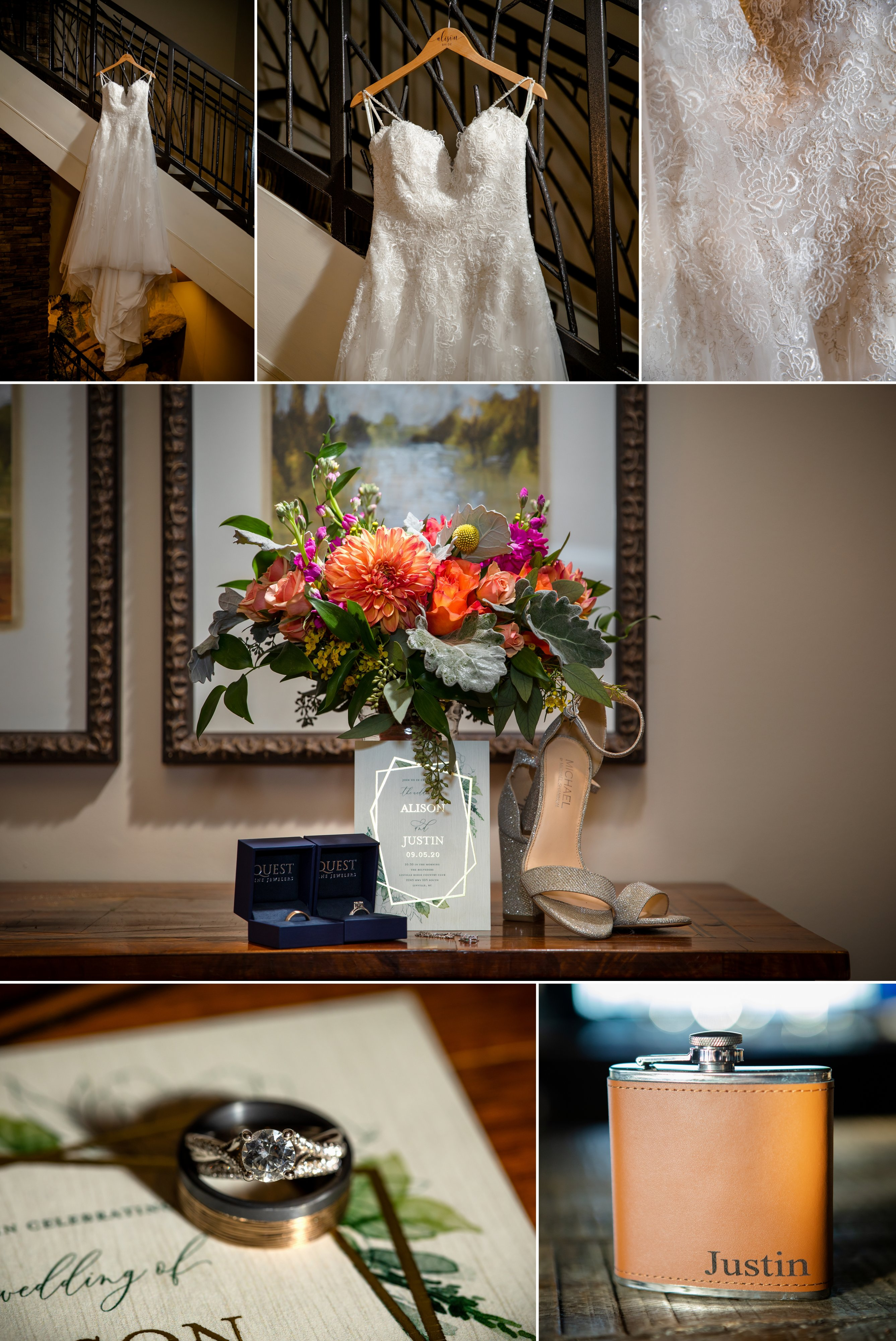 Alison and Justin - Linville Ridge Wedding