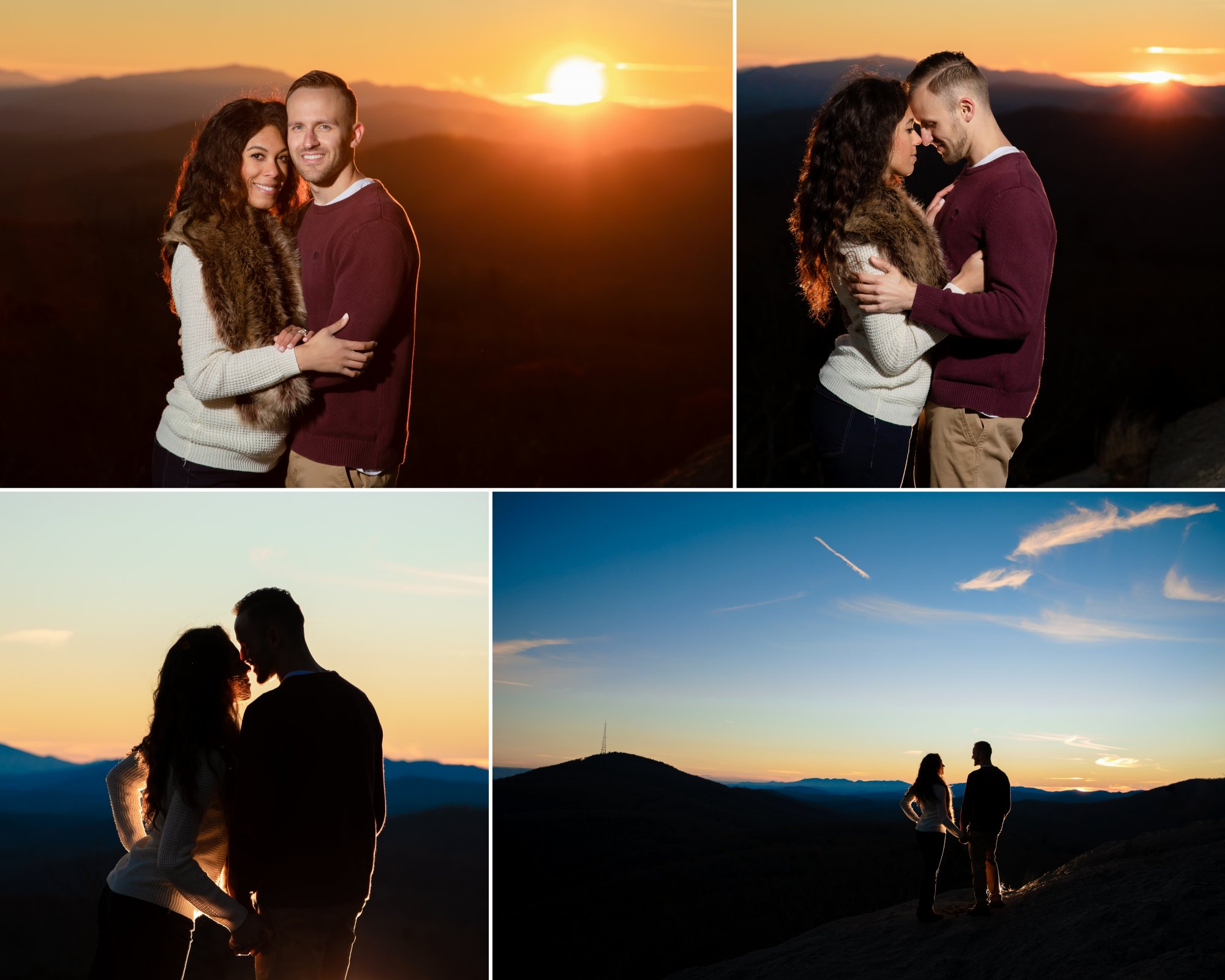 Sheri and Dom's Blue Ridge Parkway Engagement