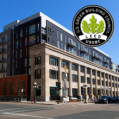 LEED Certified Buildings from JLL Income Property Trust Portfolio