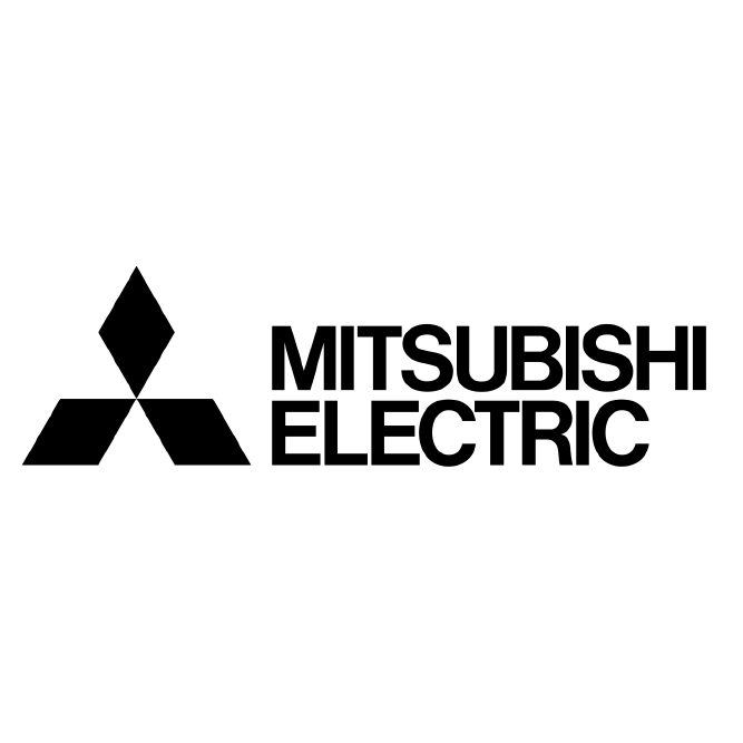 Mitsubishi Electric Logo Bw V2