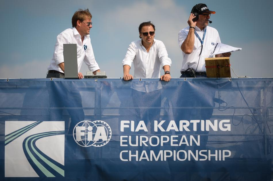 FIA/CIK Officials, including new president Felippe Massa