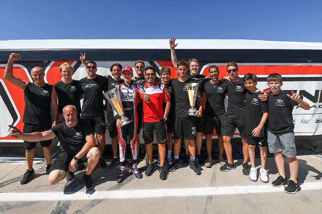 Lennox Racing Team celebrates in Adria