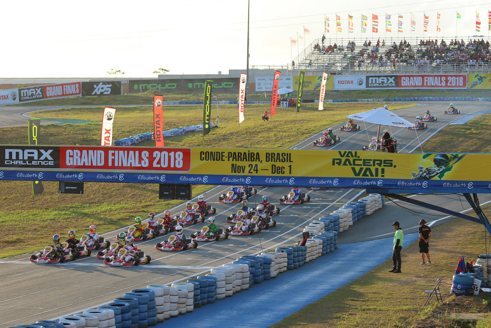 Example of elevation at the International Circuit Paladino 2018 Rotax MAX Challenge Grand Finals