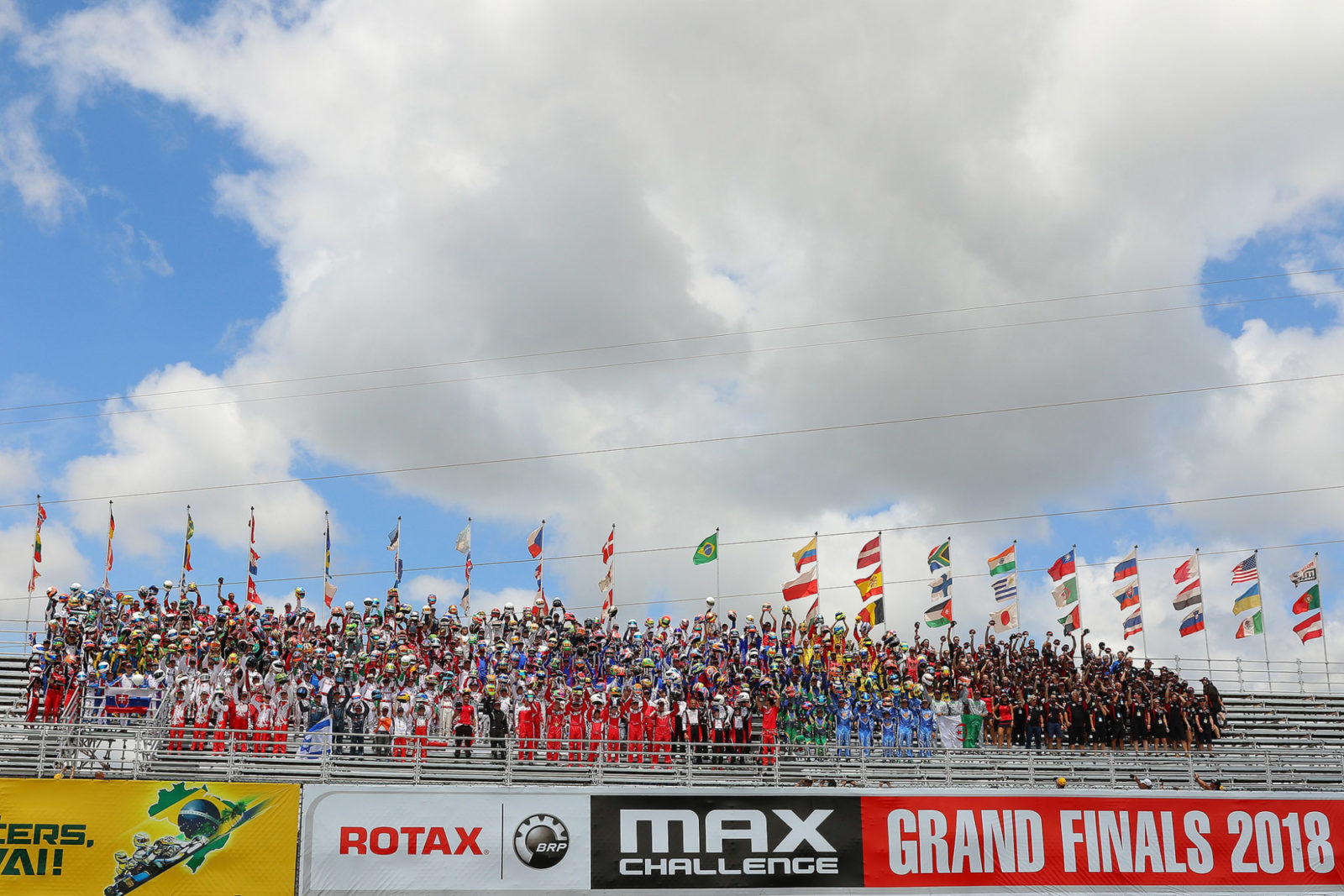 Drivers presentation 2018 Rotax MAX Challenge Grand Finals Brazil