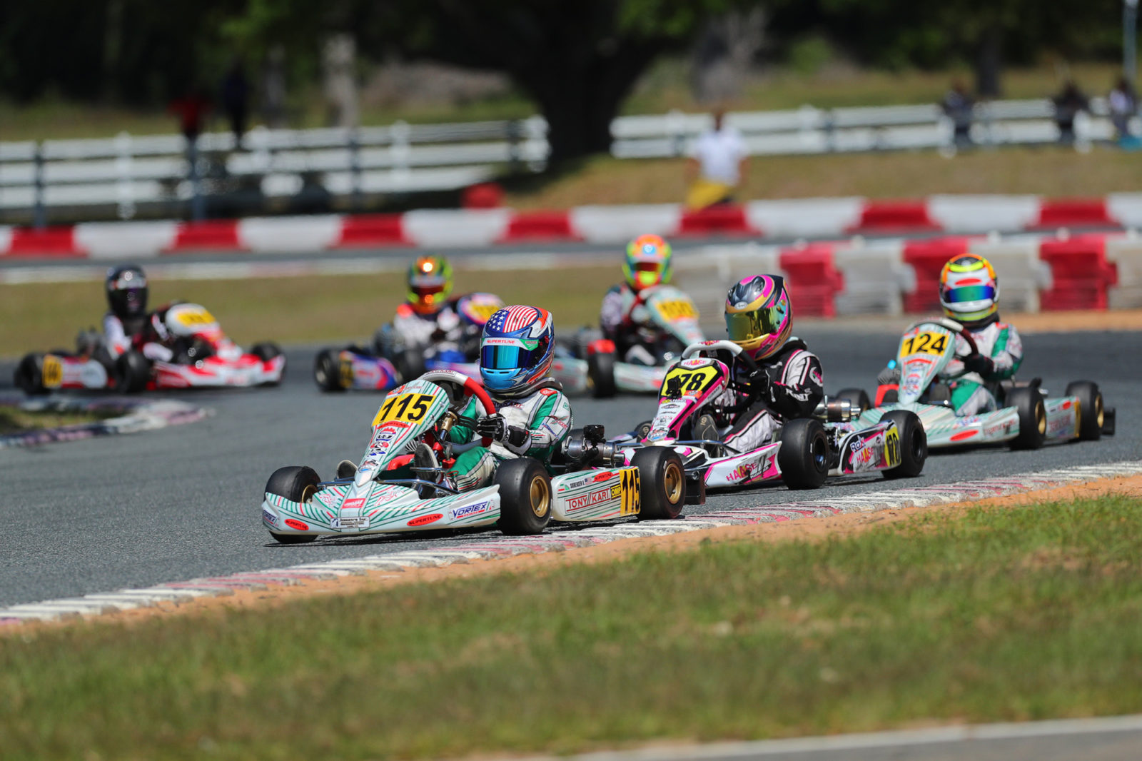 Kai Sorensen leads Mini ROK in Ocala, Florida at the 2019 Florida Winter Tour