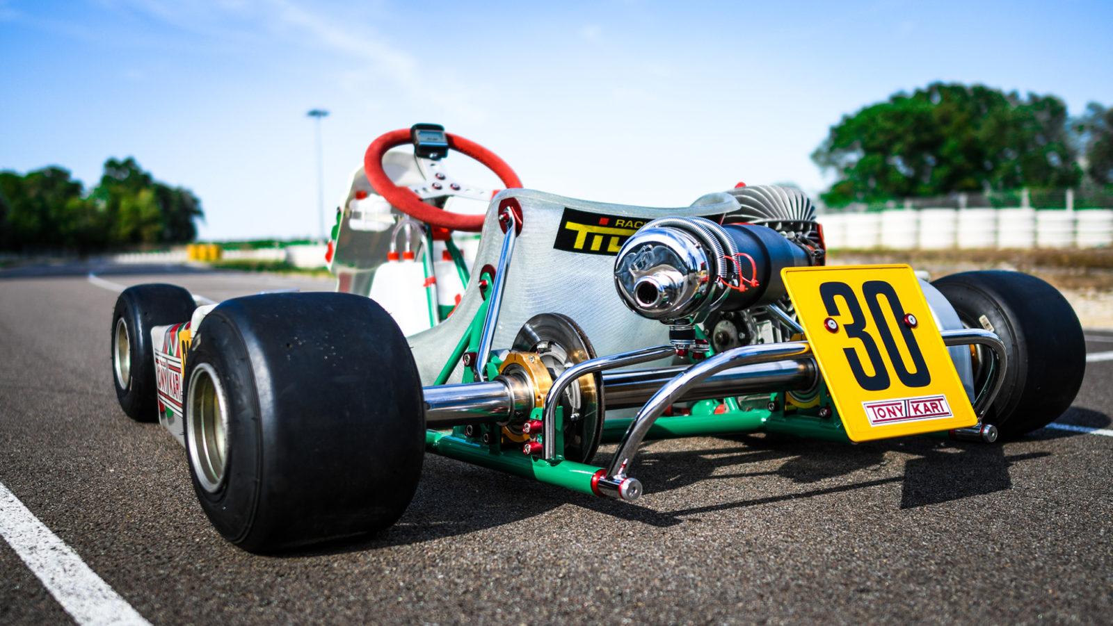 Tony Kart Extreme rear end