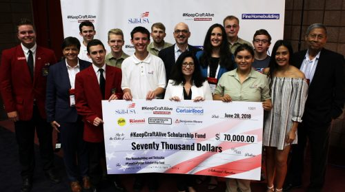 #KeepCraftAlive Raises $70,000 in Scholarships to Help Close the Skills Gap