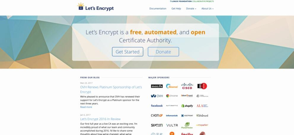 Blend Guide on Let's Encrypt Banner Image