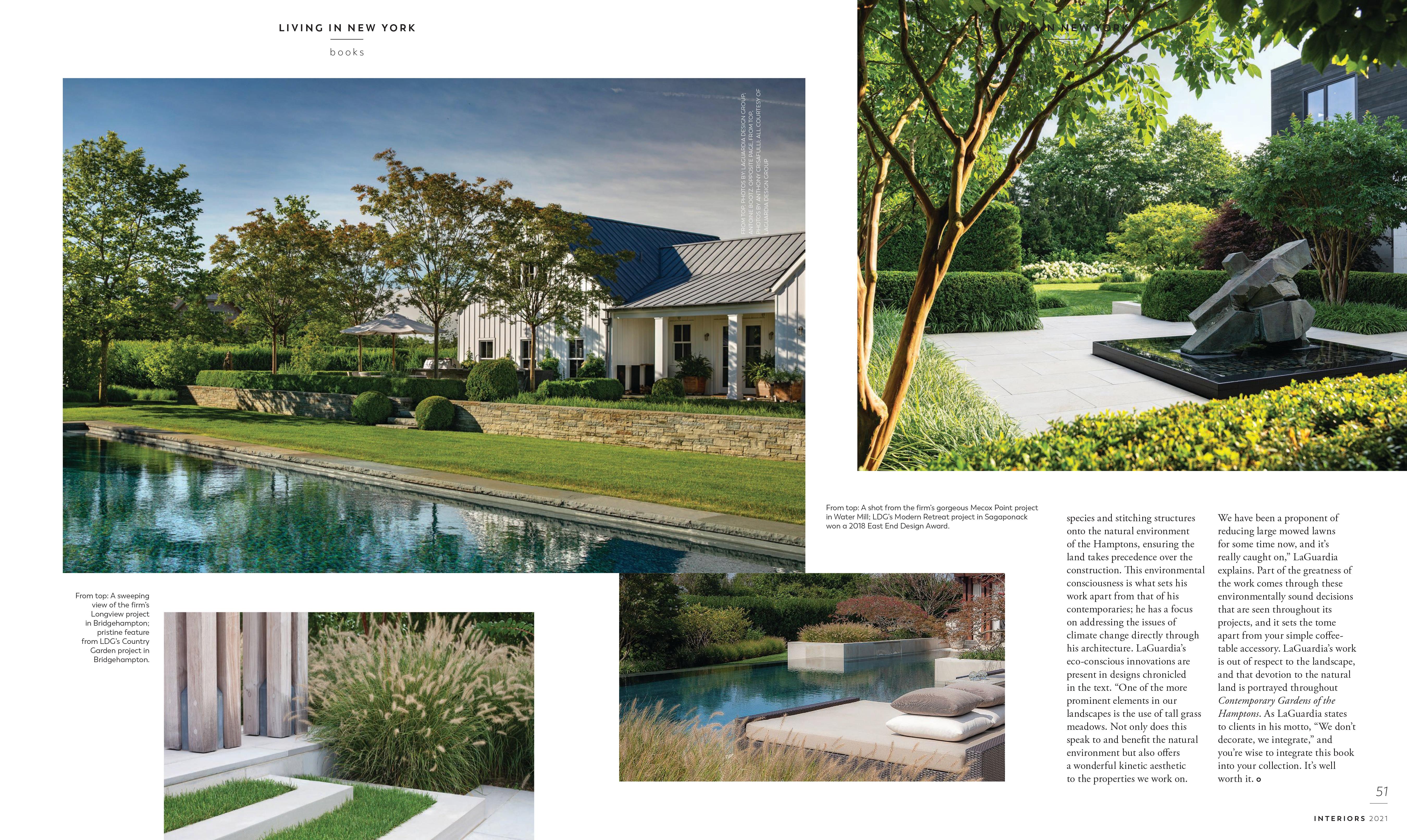 Modern Luxury Interiors- New York- April 2021