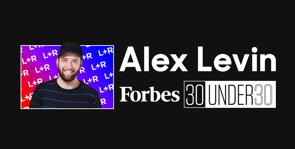 Forbes selects L+R's Founding Partner among the 30 Under 30 Innovators