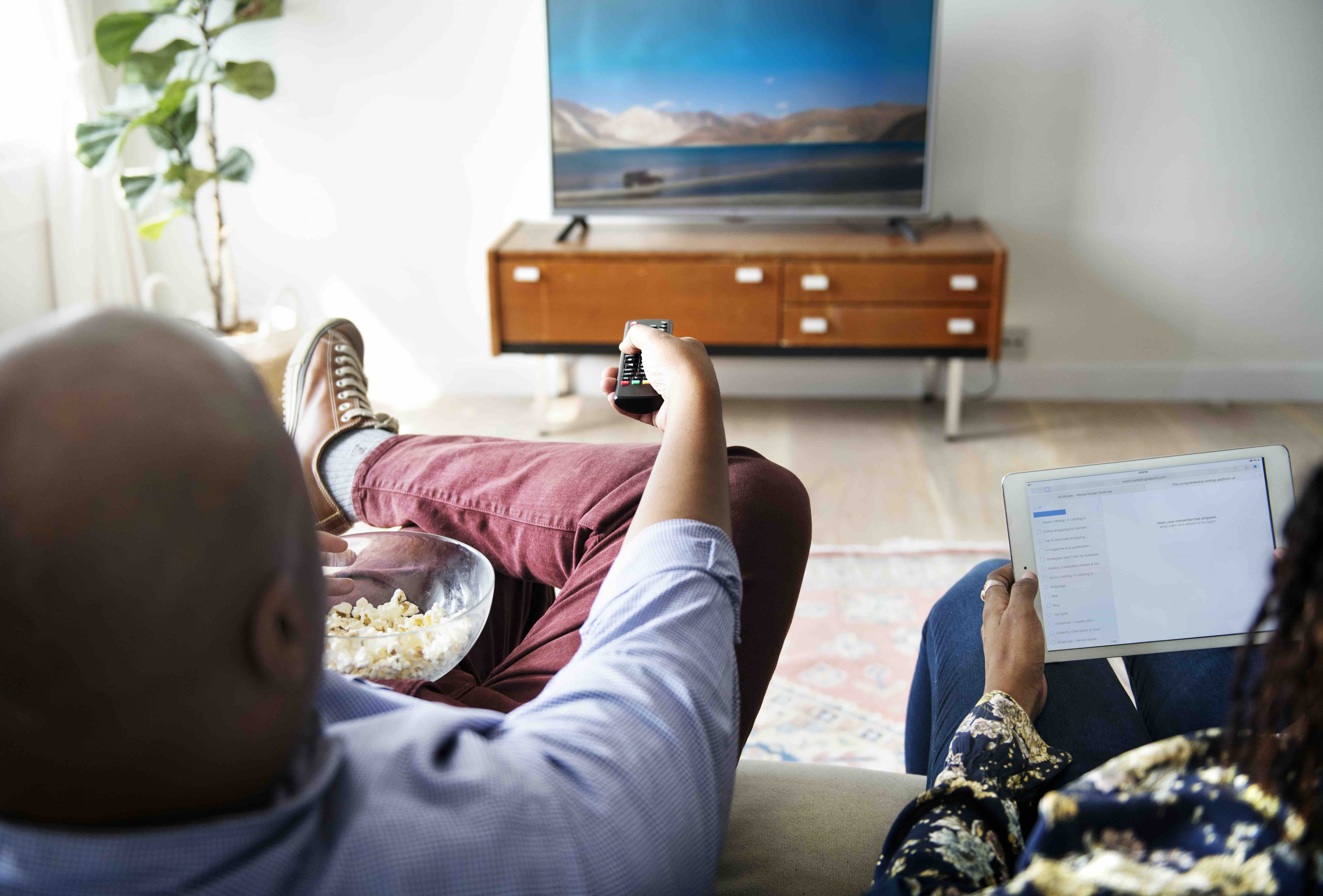 Viewing television and video content on multiple devices