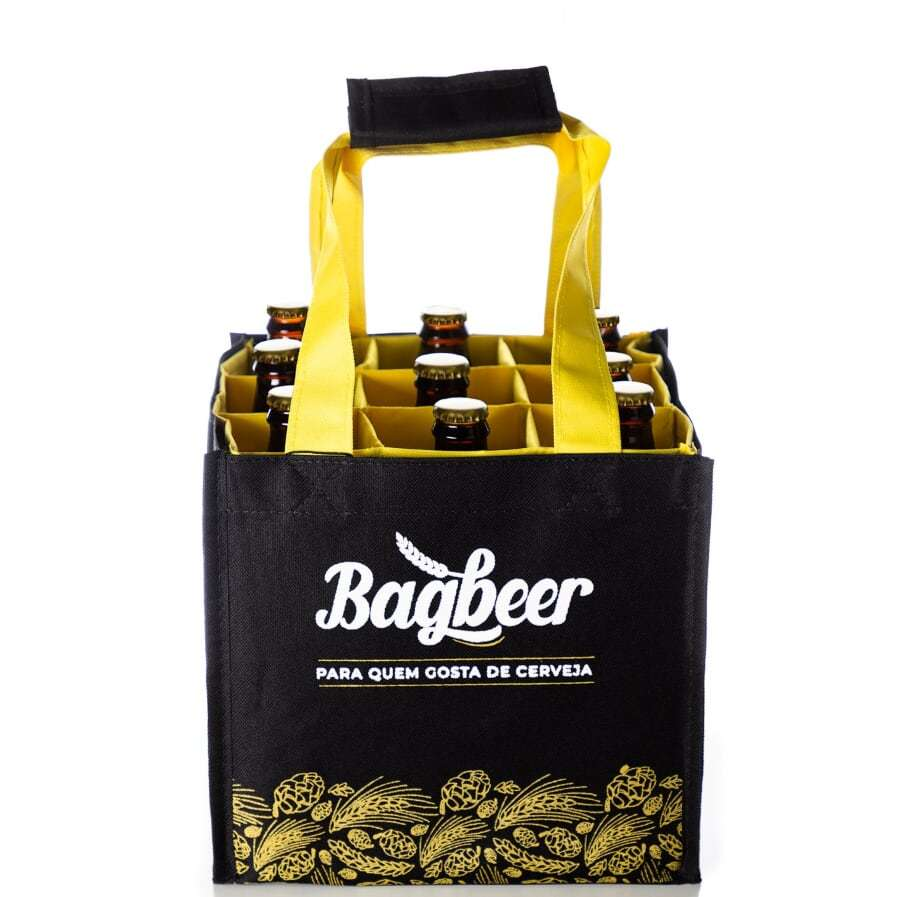 Bagbeer - Bolsa para transporte de Cerveja Artesanal
