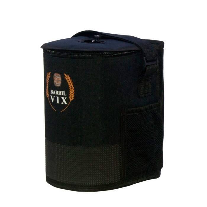 Bolsa 8L Térmica PRETA para Keg + GELO