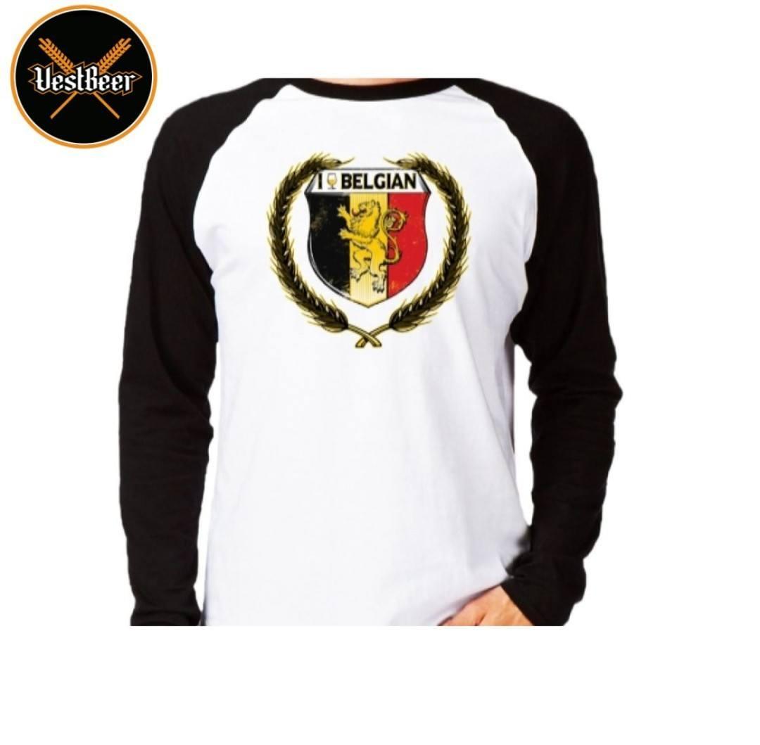 Camiseta Belgian Manga Longa