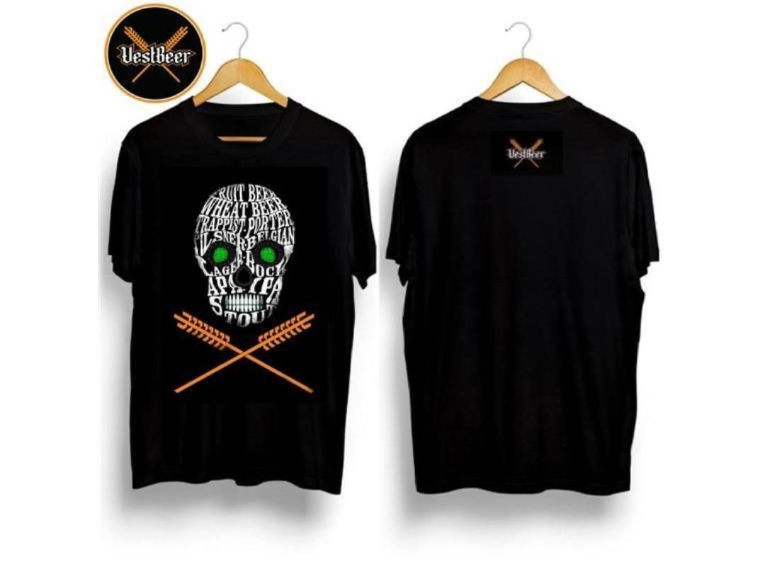 Camiseta Caveira VestBeer