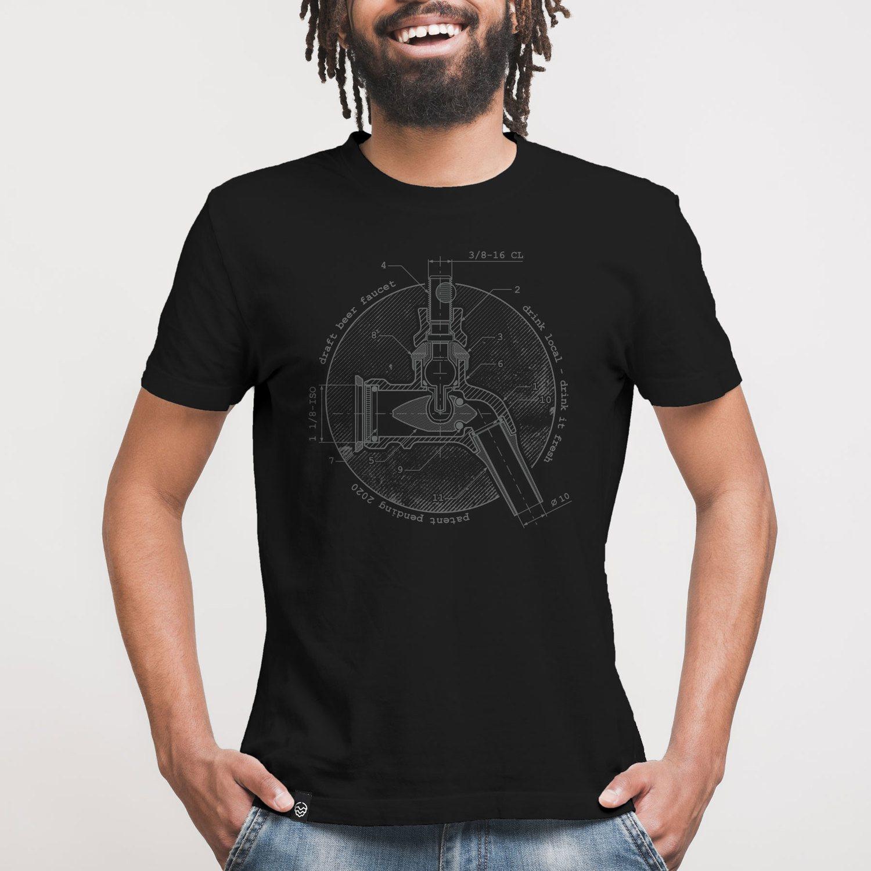 Camiseta Contém Lúpulo BEER TAP