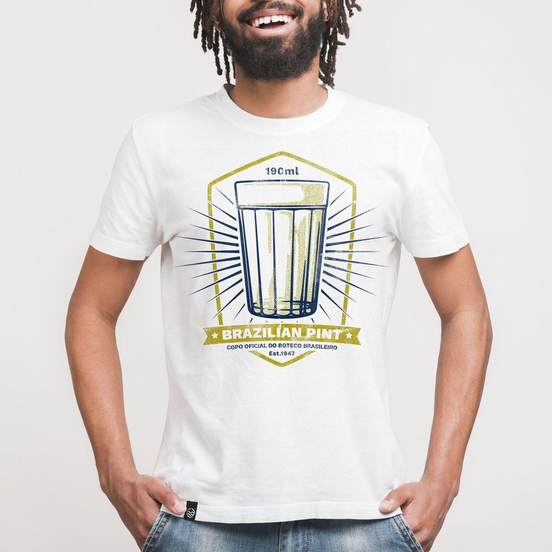 Camiseta Contém Lúpulo BRAZILIAN PINT