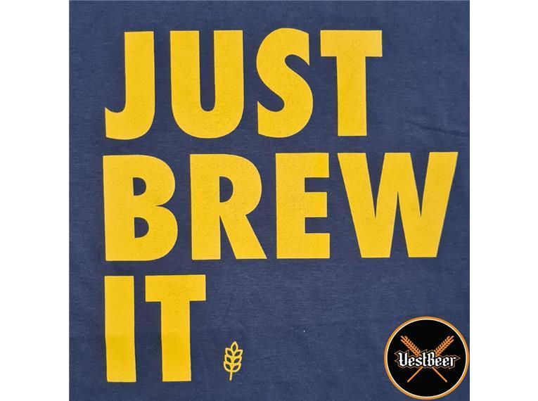 Camiseta Just Brew It VestBeer