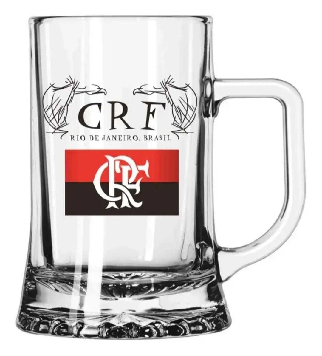 Canecas Copo Chopp Maxim Cerveja Logo Flamengo 500 Ml