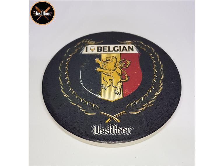 Coaster Belgian VestBeer