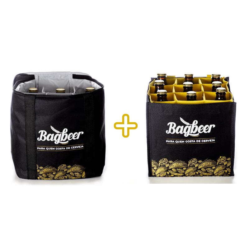 Kit Bagbeer - Bolsa Térmica + Bolsa Engradado