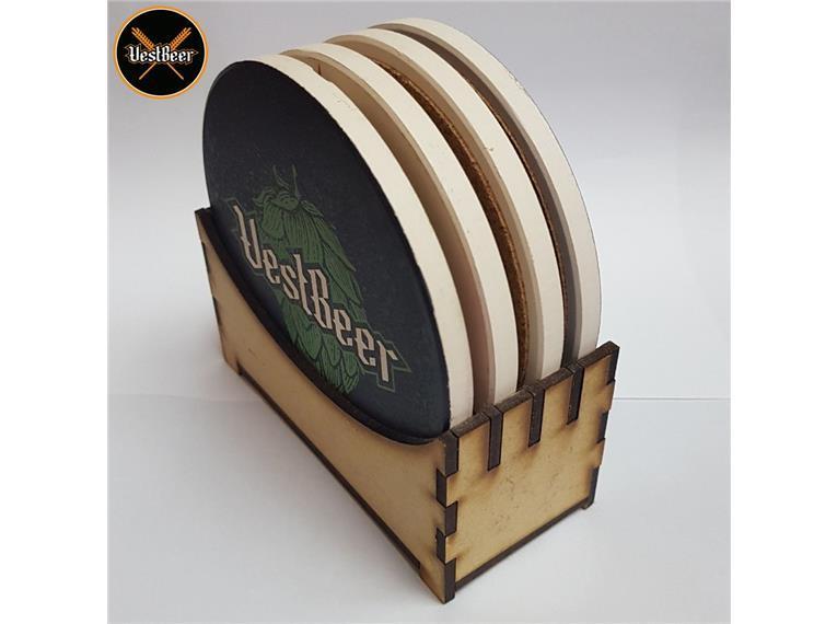 Suporte para Coaster de Cerâmica VestBeer