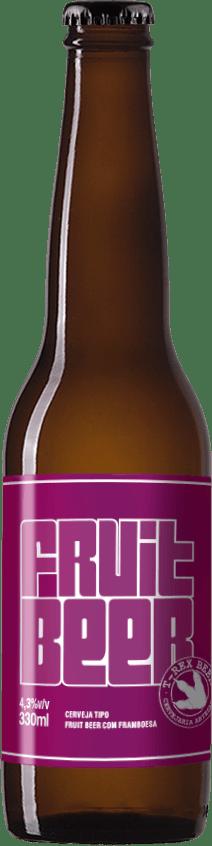 T-Rex Beer Fruit Beer Framboesa 330ml