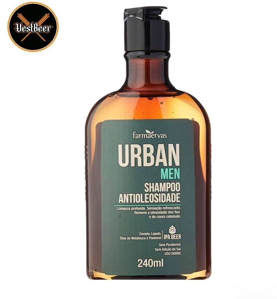 Urban Shampoo Antioleosidade IPA Beer 240ml VestBeer