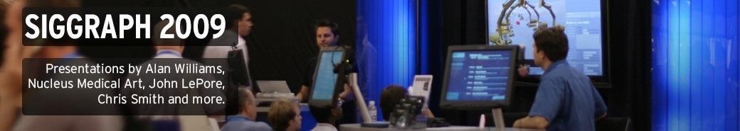 Watch the Siggraph 2009 presentations