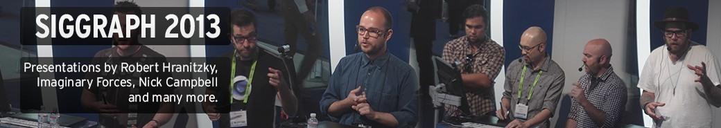 Watch the Siggraph 2013 presentations