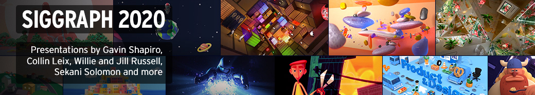 Watch the The 3D and Motion Design Show - Siggraph 2020 Edition presentations