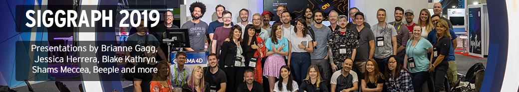 Watch the Siggraph 2019 presentations