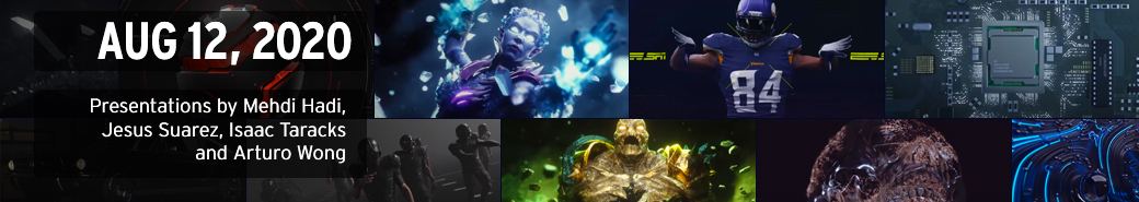Watch the The 3D and Motion Design Show - August 12, 2020 presentations
