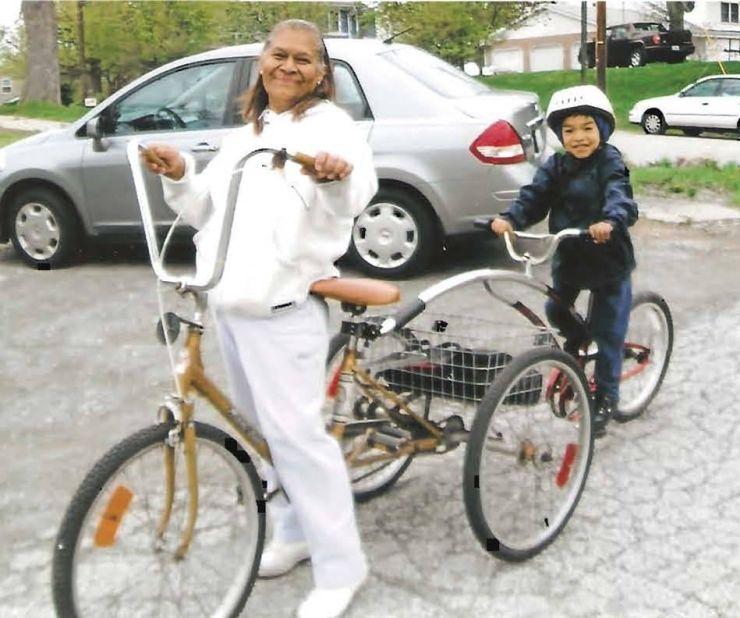No Borders to Helping Felisa Reyes bicycle