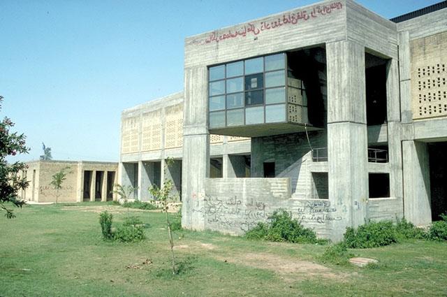Jondi Shapour University East Facade Gymnasium Archnet